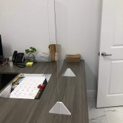 Office Desk Sneeze Guard